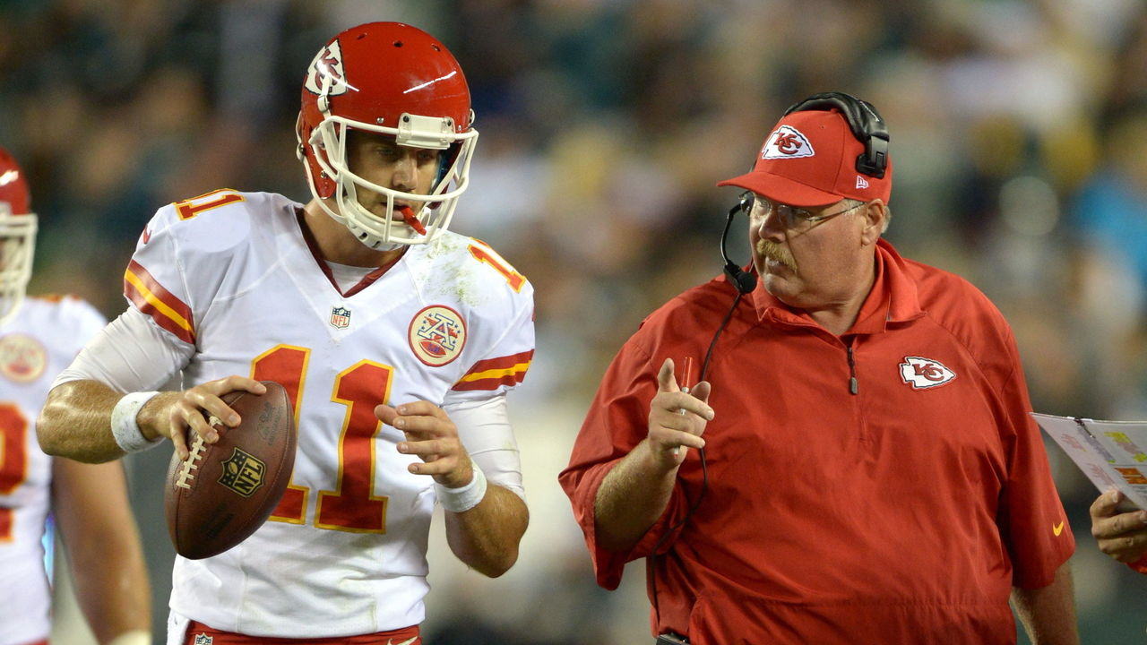 Andy Reid has never traded a QB that flourished elsewhere