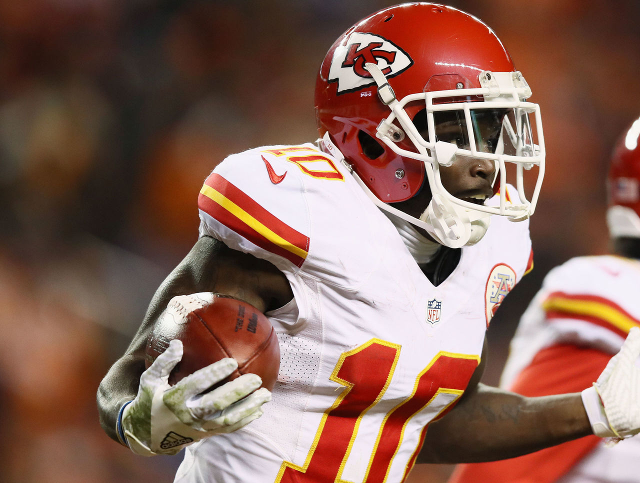 Watch Chiefs Hill Burns Chargers For 95 Yard Return TD
