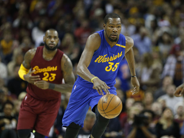 e5194c84f999 LeBron denies Cavs-Warriors rivalry  Durant disagrees