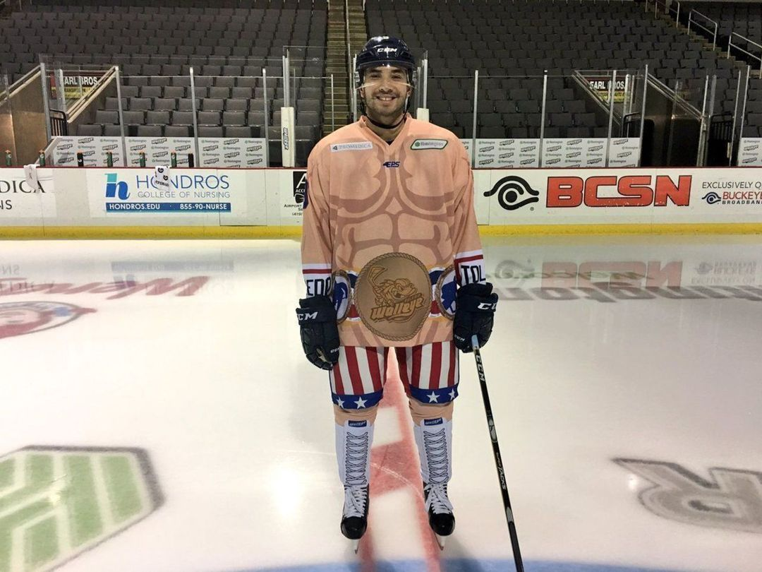 ECHL: Team Shows Off 'Rocky'-themed Uniforms