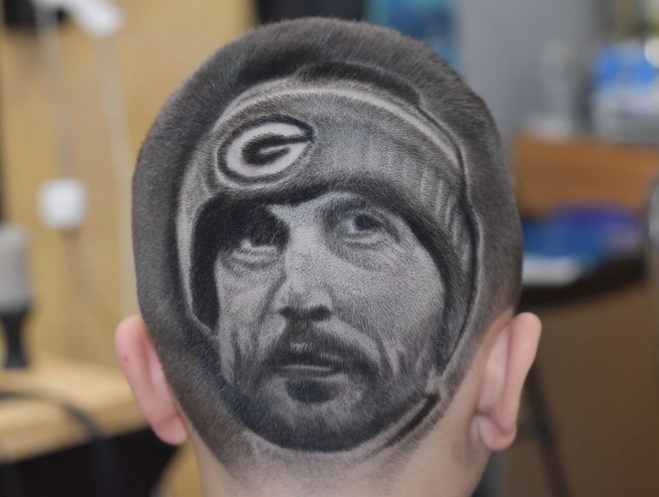Cropped rodgers haircut