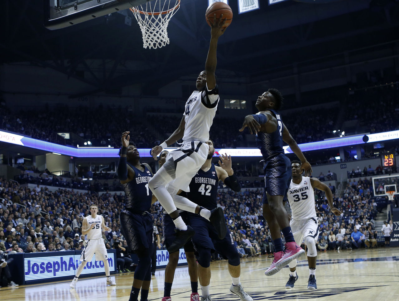 Cropped 2017 01 22t201553z 580387859 nocid rtrmadp 3 ncaa basketball georgetown at xavier