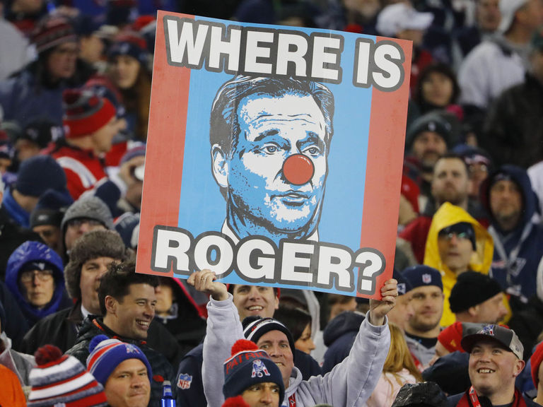 Bennett hasn't seen Goodell during Pats' playoff run: 'He's like Waldo right now'