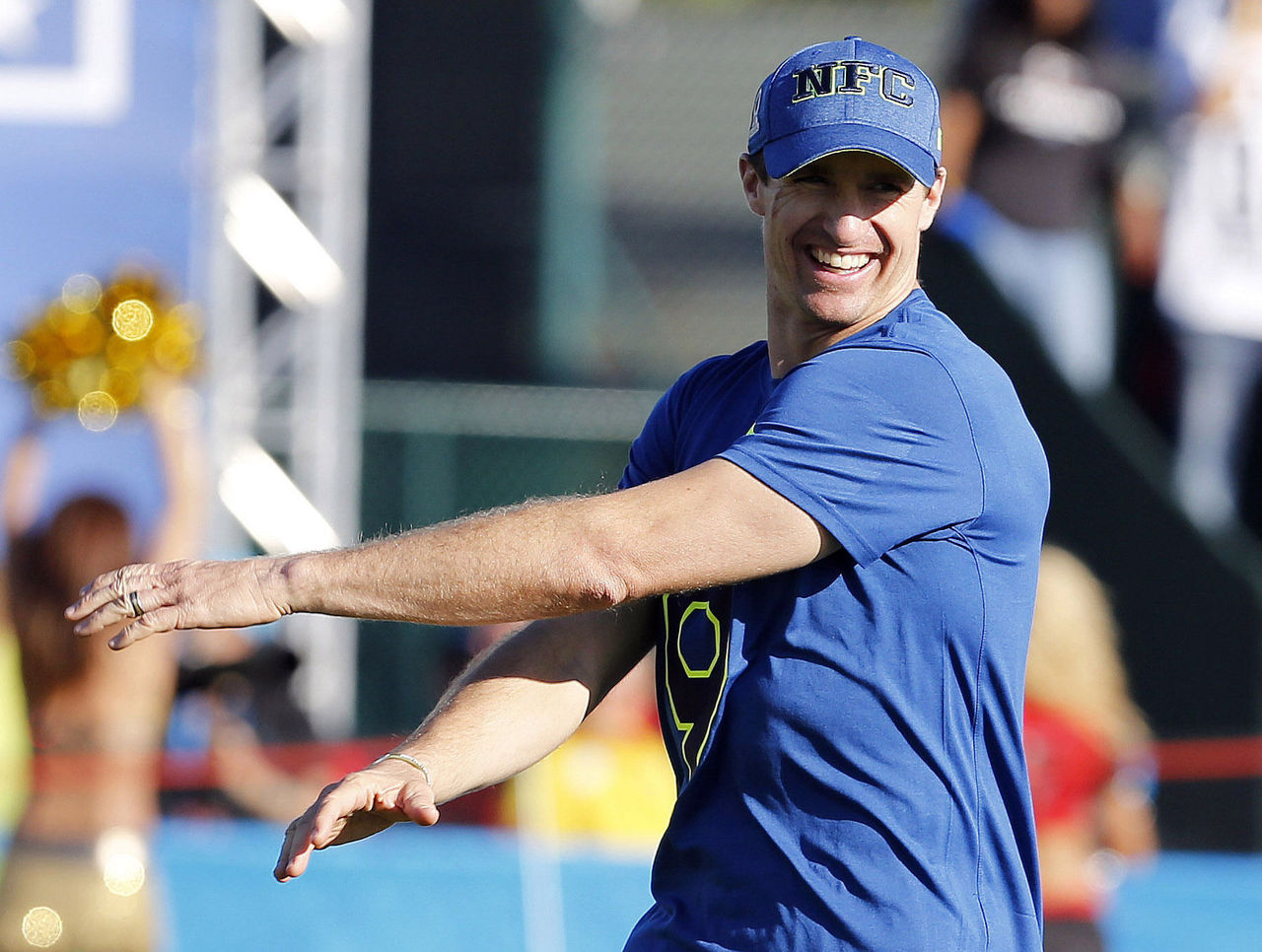 Brees believes flag football could 'save the game of football'