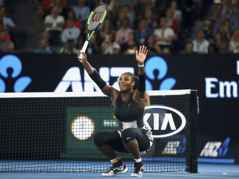 Look: WWE sends Serena Williams custom-plated title belt
