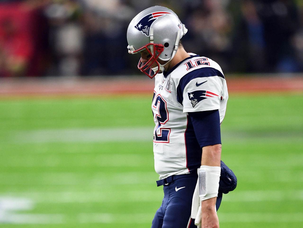 37210e13333 Patriots facing largest Super Bowl deficit of Brady-Belichick era ...