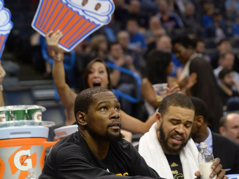 Draymond compares OKC fans to ex-girlfriend for treatment of KD