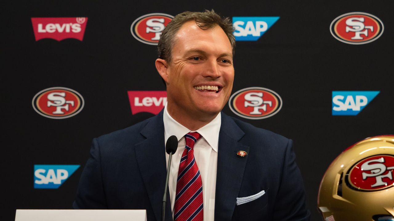 Lynch aces 1st real test as 49ers GM