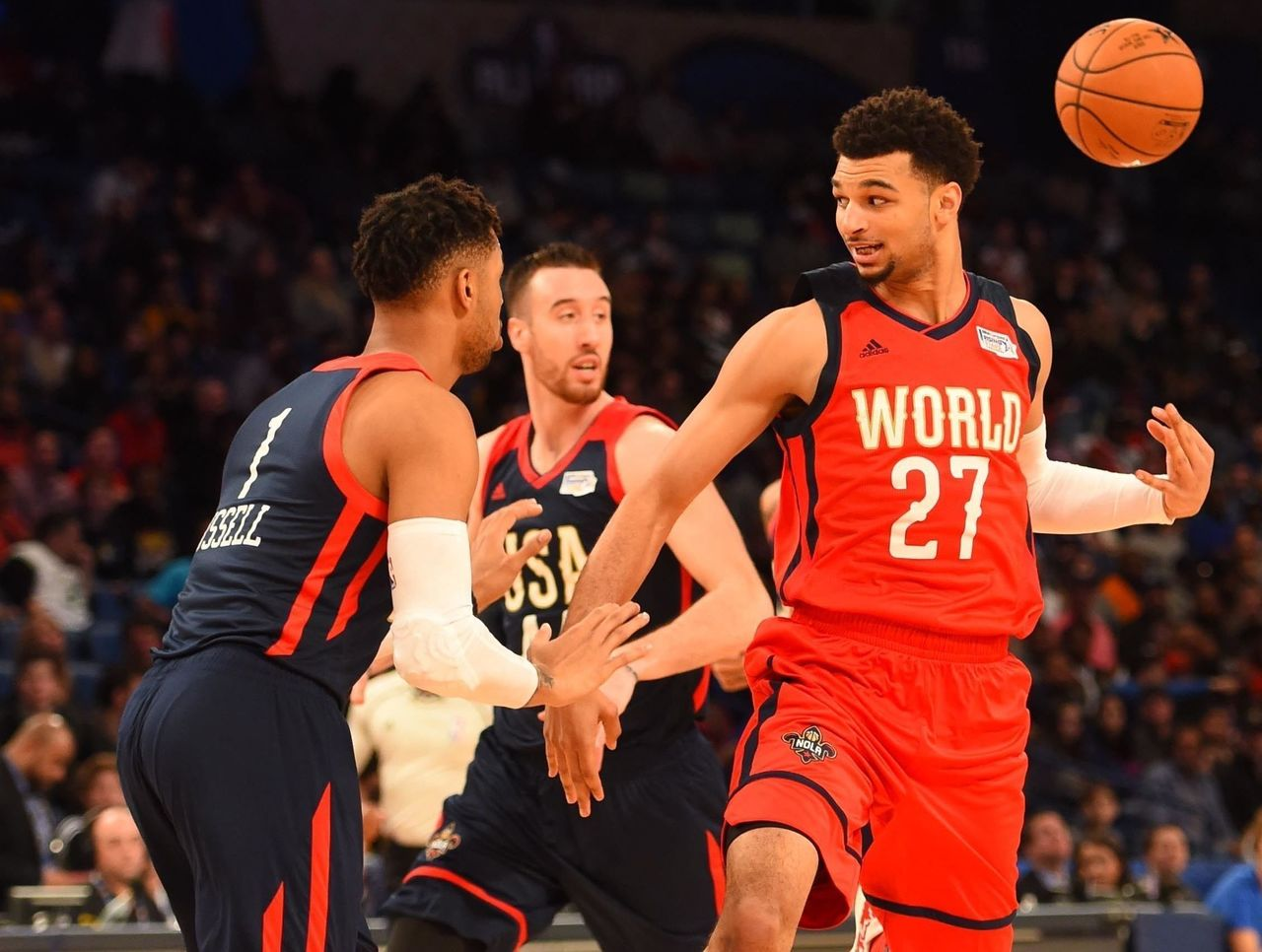 Team World Tops Team Usa In Rising Stars Challenge