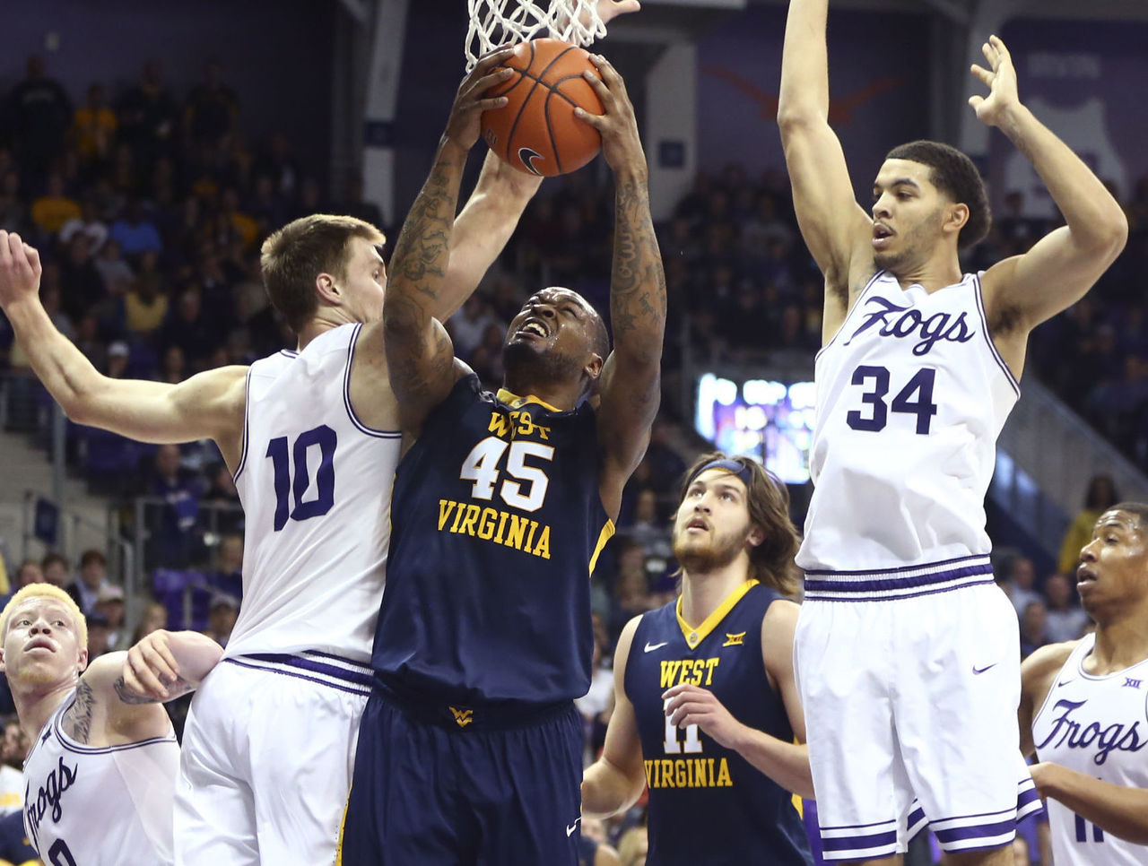 Cropped 2017 02 25t213200z 350176688 nocid rtrmadp 3 ncaa basketball west virginia at texas christian