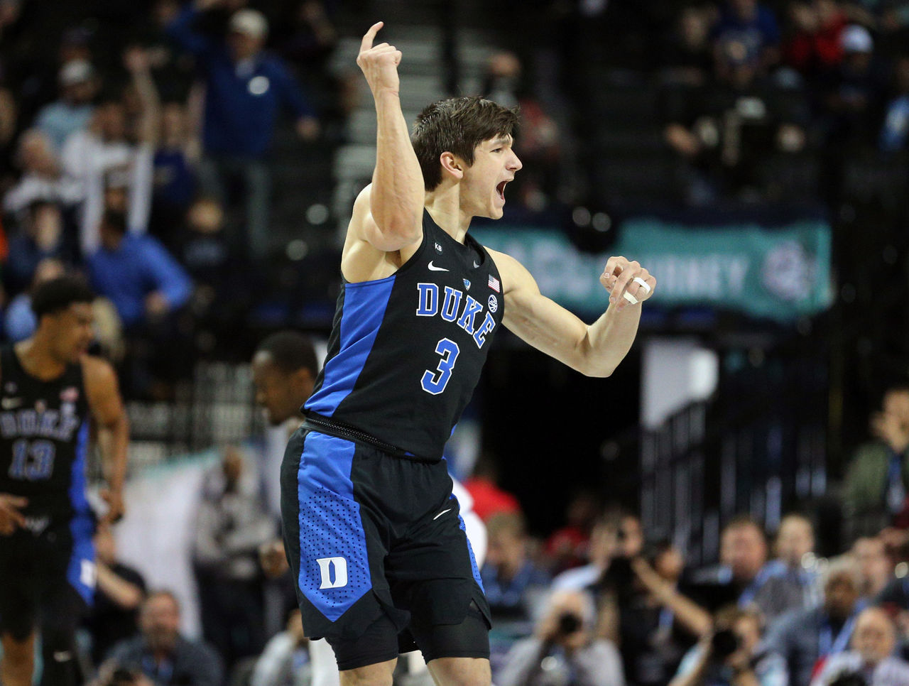19677827af4 Grayson Allen reclaims role of Duke captain
