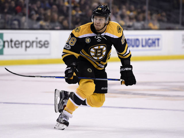 Bruins sign Pastrnak to 6-year, $40M contract