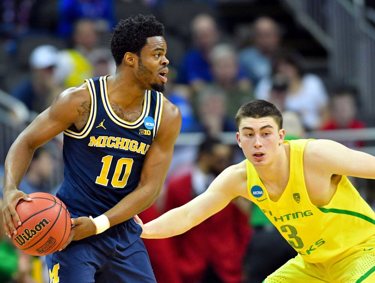 Cropped 2017 03 23t234506z 906920664 nocid rtrmadp 3 ncaa basketball ncaa tournament midwest regional oregon vs michigan