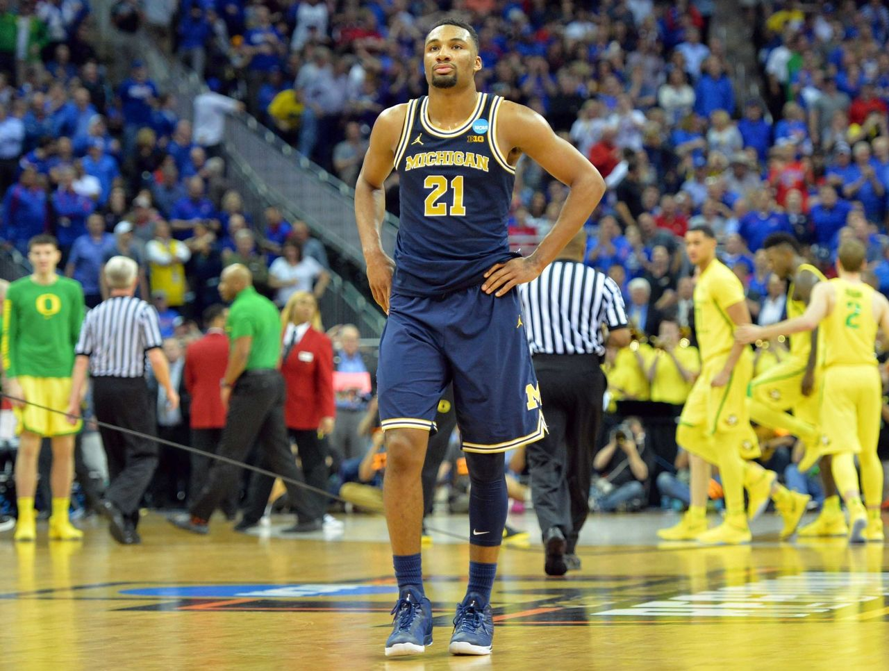 Cropped 2017 03 24t011006z 324106035 nocid rtrmadp 3 ncaa basketball ncaa tournament midwest regional oregon vs michigan