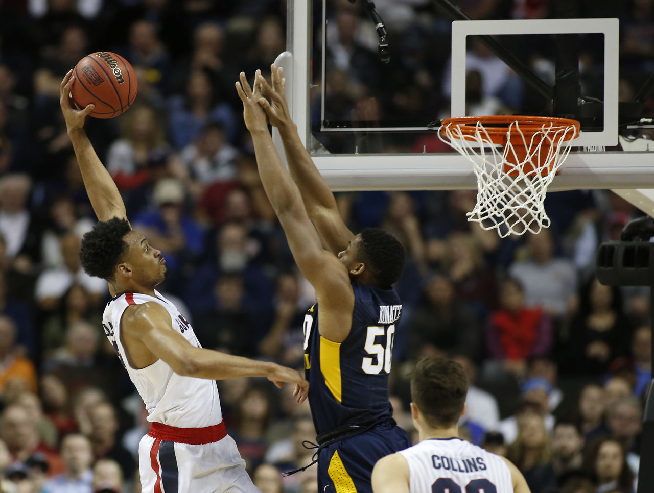 Cropped 2017 03 24t015044z 303007539 nocid rtrmadp 3 ncaa basketball ncaa tournament west regional gonzaga vs west virginia