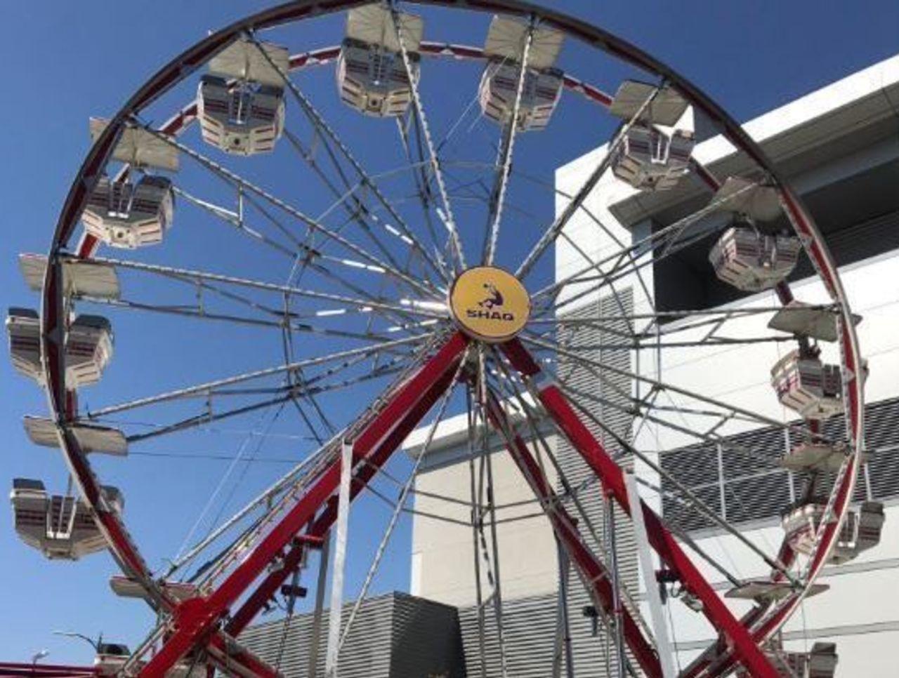 Cropped shaq wheel