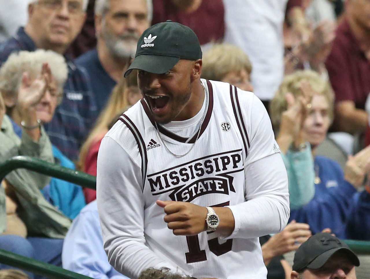 Dak rides emotional roller coaster during Mississippi State's historic win