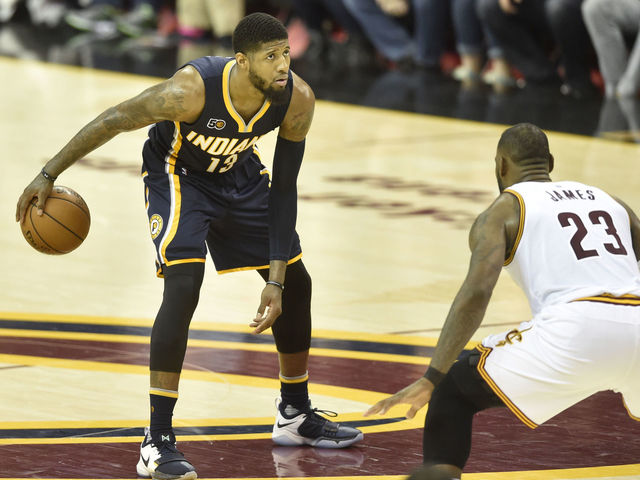 Report: Cavs interested in George even without promise he'll re-sign