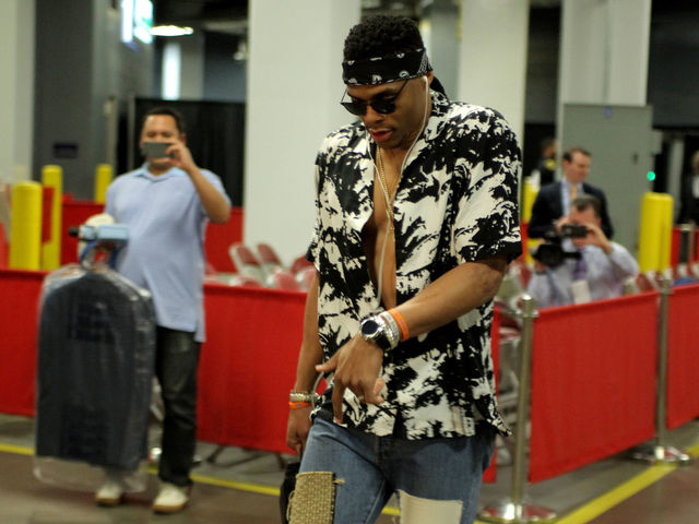 Watch: Westbrook explains why his mom is his style icon