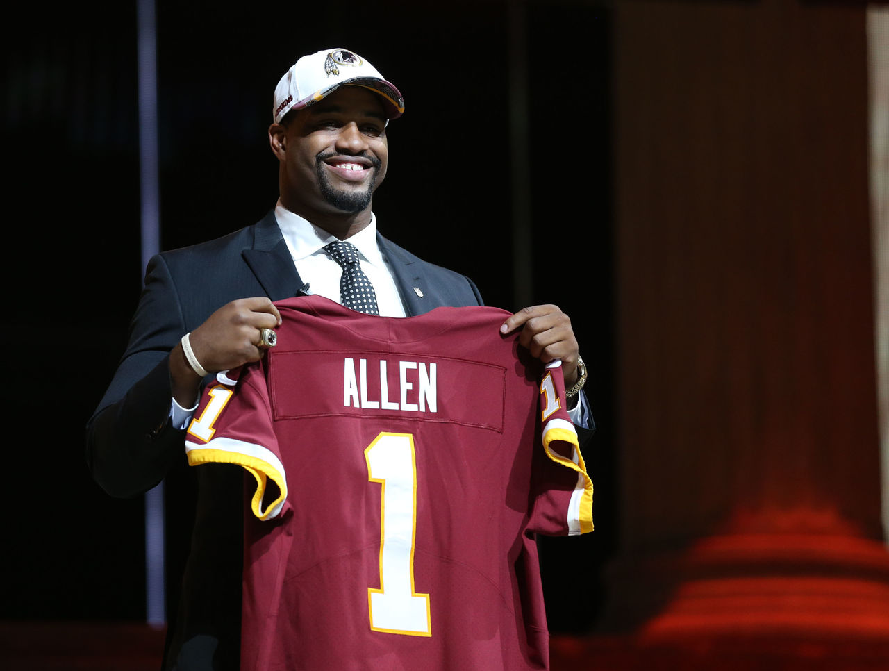 Report: Redskins' 1st-round pick Allen out for year with foot injury
