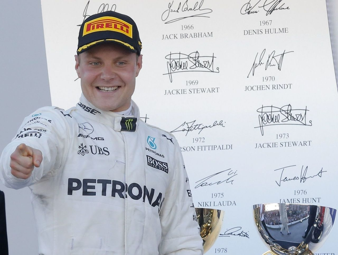 Formula One Russian Grand Prix sees Bottas secure first win