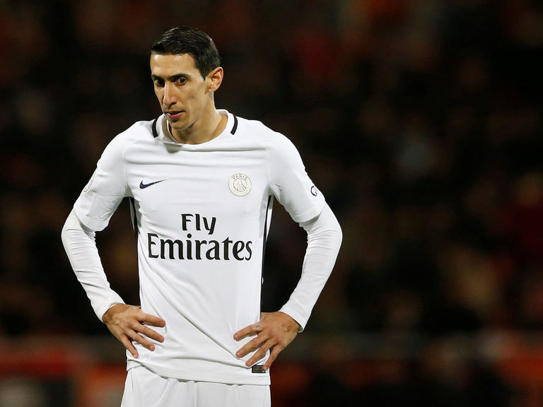 PSG's Di Maria, Motta banned 2 matches for Nice outbursts