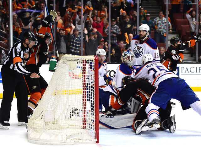 Poll: Was Talbot interfered with on Rakell's game-tying goal?