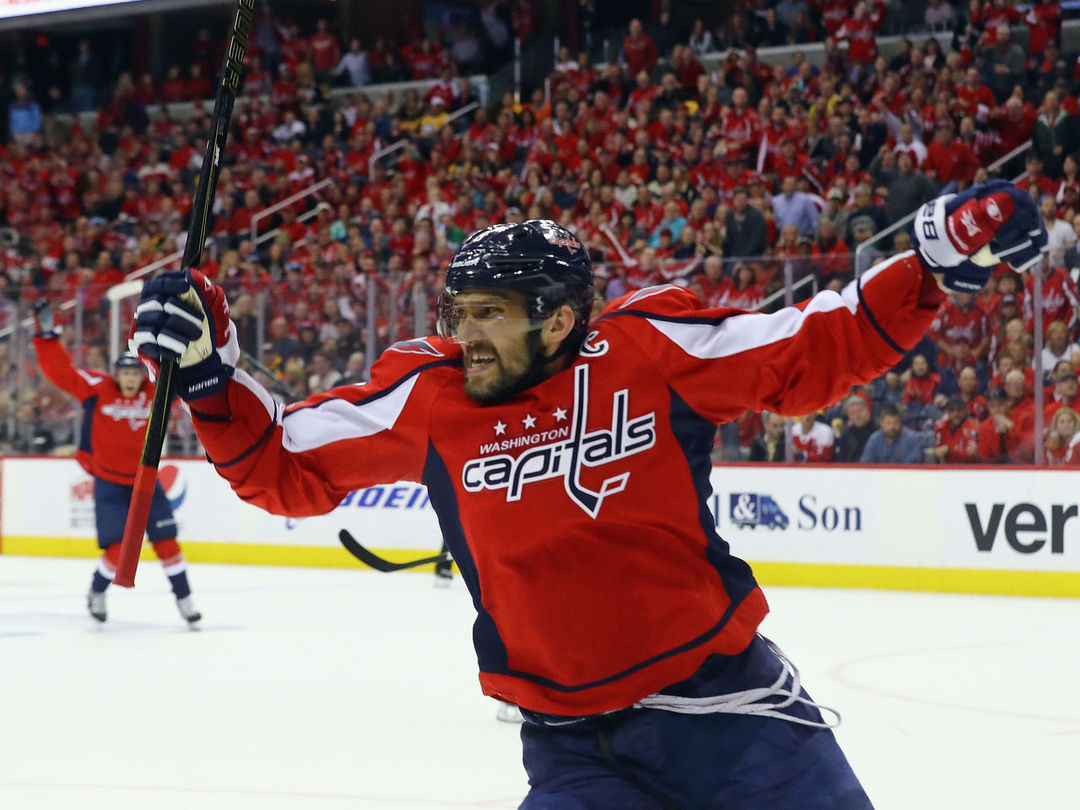 Watch: Ovi hammers home spin-around slapshot early vs. Canadiens