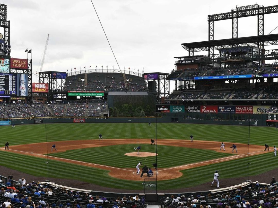 Coors Field beset by blizzard while dome is open in Arizona