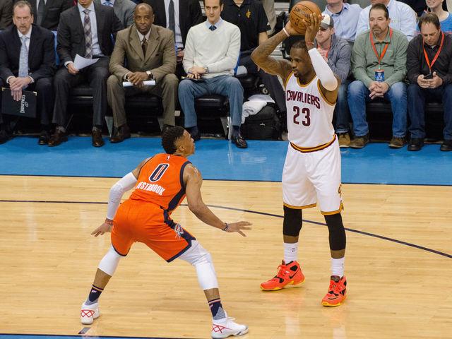LeBron, Westbrook headline 2017 All-NBA teams