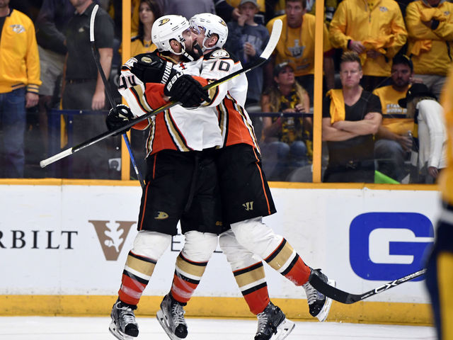 Watch: Perry's OT winner evens series at 2 games apiece