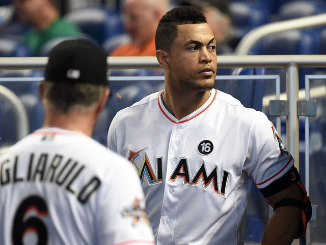 Stanton: Frustration level 'highest ever' with Marlins in last place