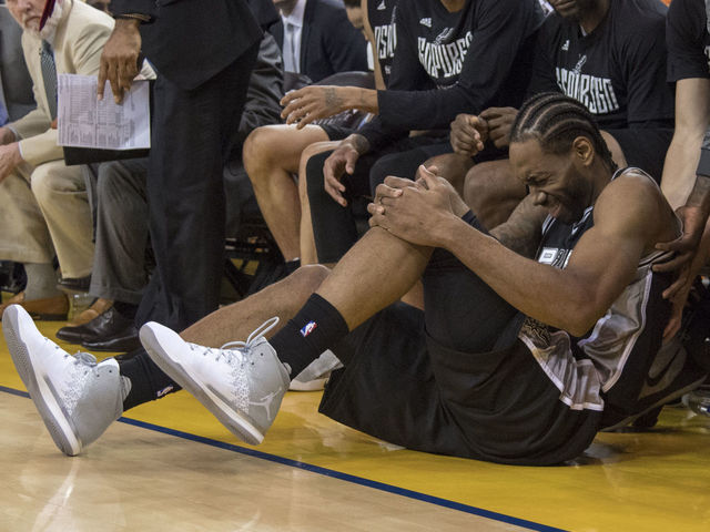 Kawhi says Game 3 decision up to him, but ankle 'still not ready'