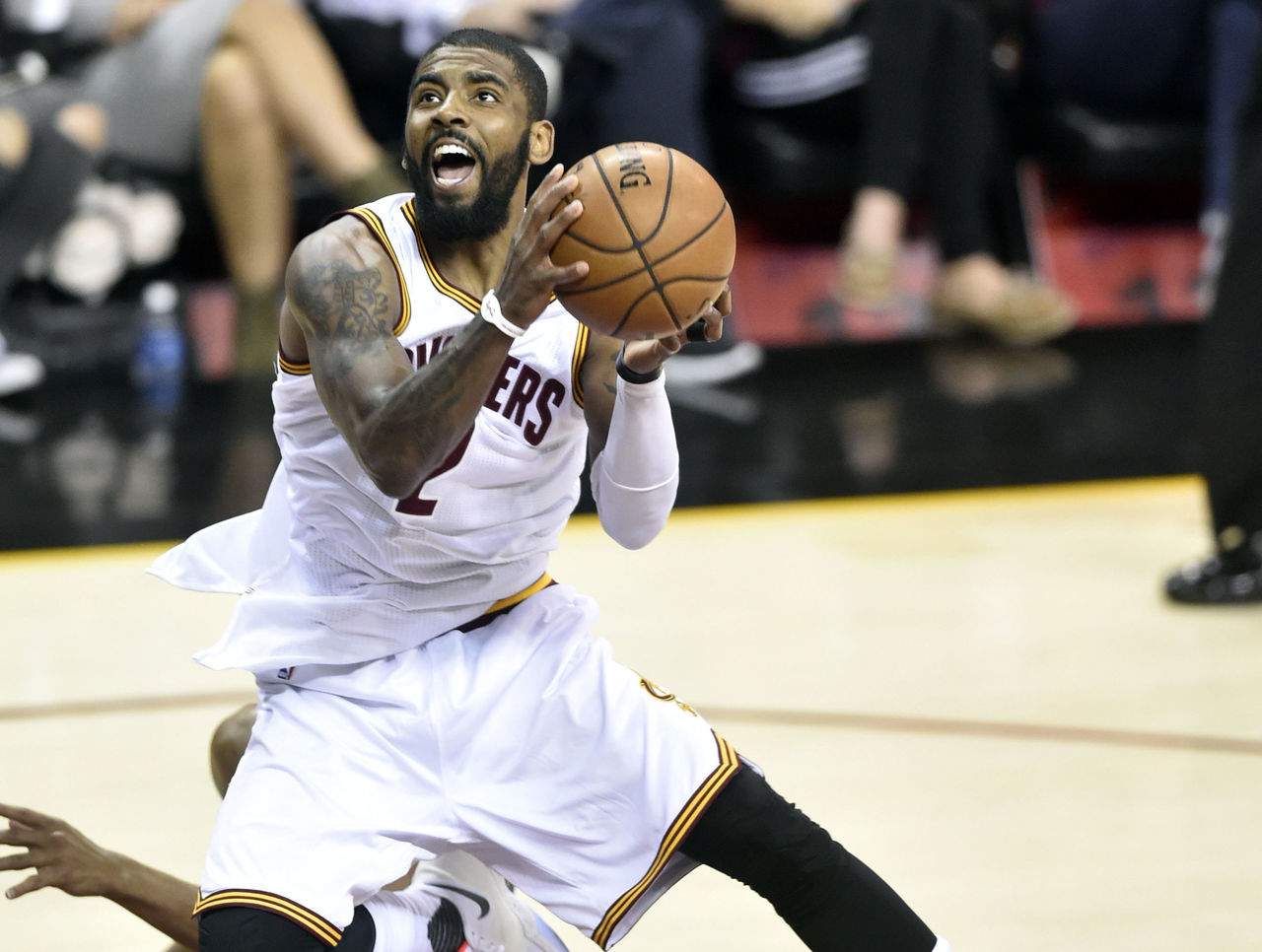 Watch: Irving fakes Crowder en route to setting playoff career high | theScore.com