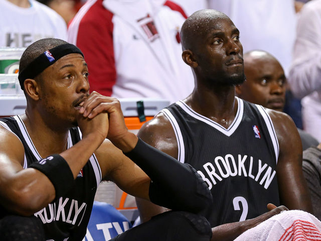 Infamous Nets-Celtics trade initially only included Pierce, 1 draft pick