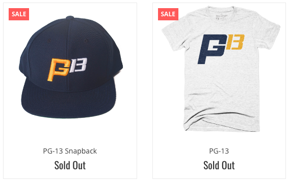 Indy store gives away all of their Paul George gear after ...