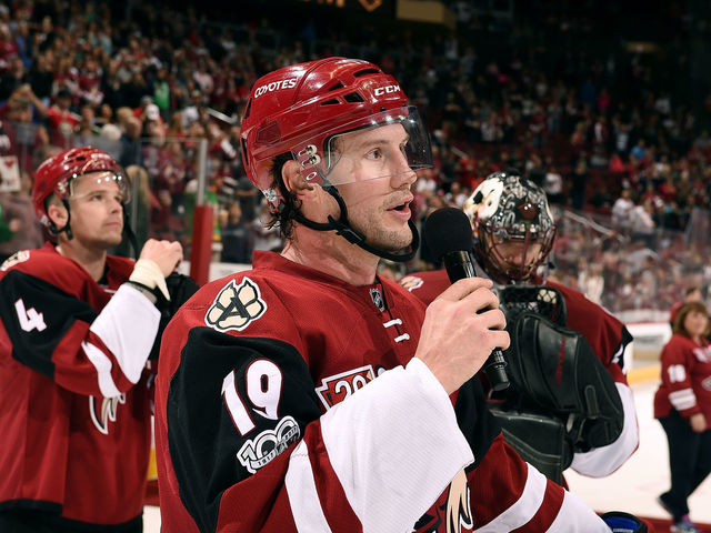Report Coyotes Offer Doan Front Office Job Thescore Com
