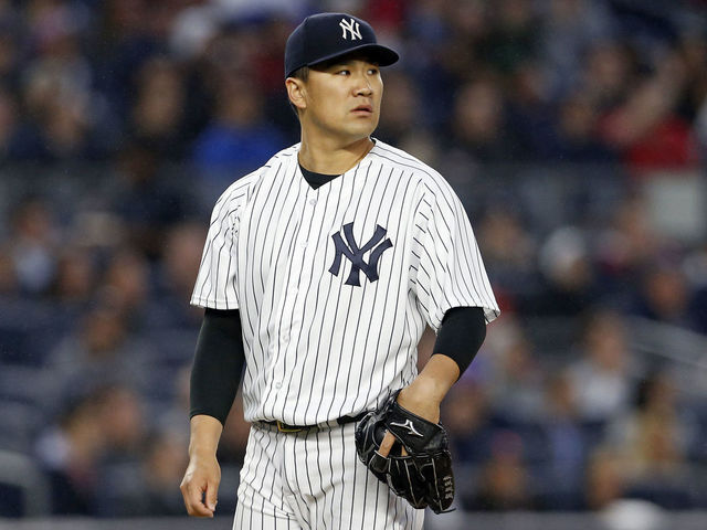 Yankees place Tanaka on DL with shoulder inflammation