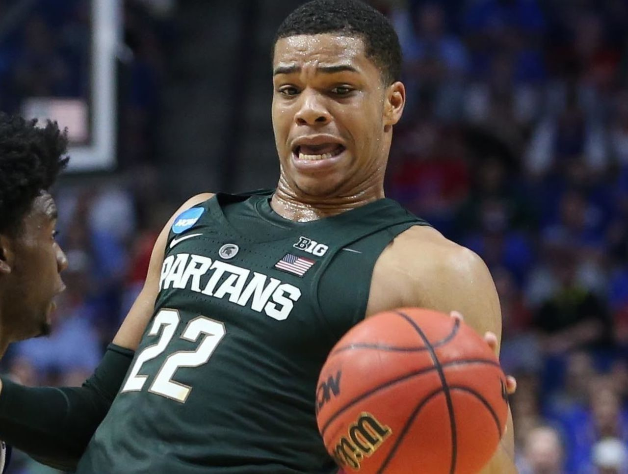 Cropped 2017 03 20t023842z 1876273180 nocid rtrmadp 3 ncaa basketball ncaa tournament second round kansas vs michigan state