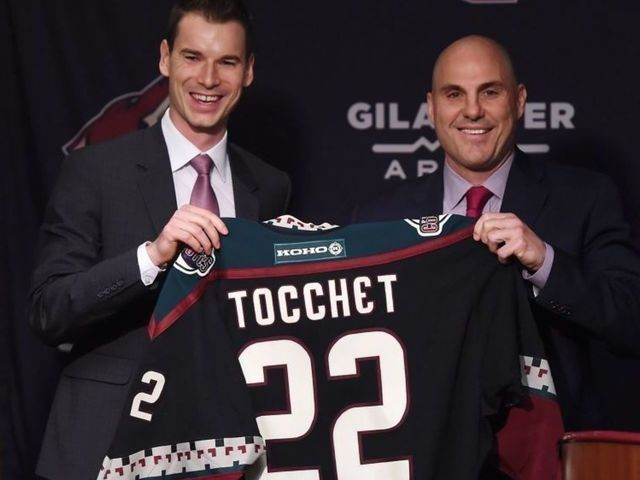 Coyotes project to be a more exciting, offensive team under Tocchet