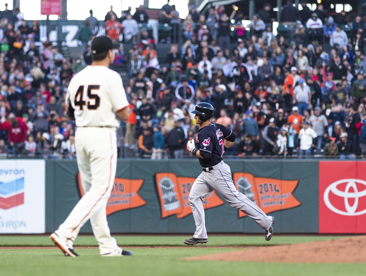 Giants' sellout streak ends at 530 consecutive home games