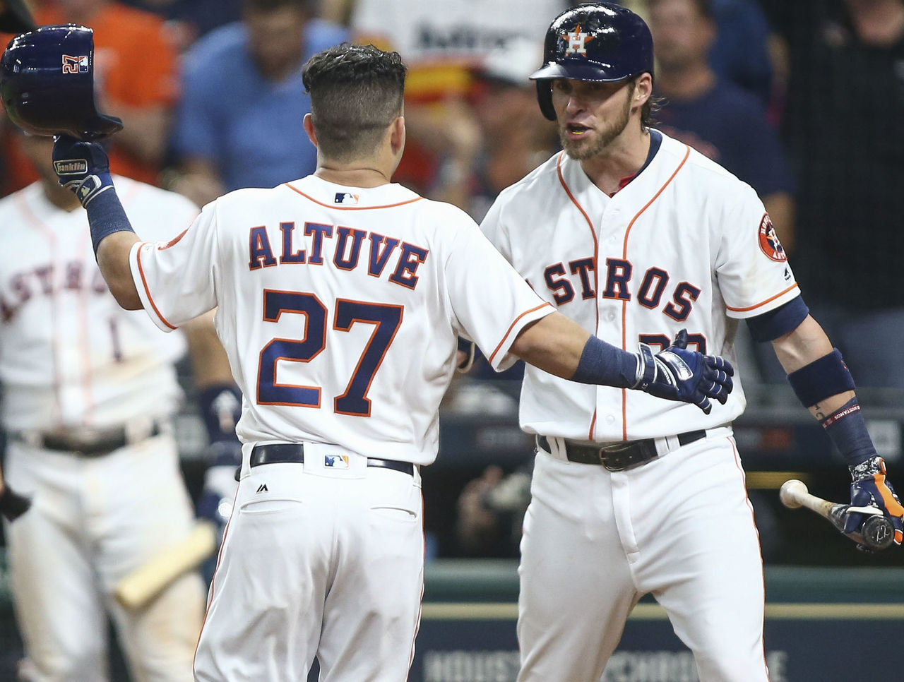Cropped astros double