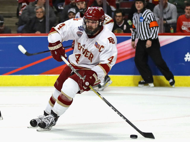 Hobey Baker winner Butcher to become unrestricted free agent