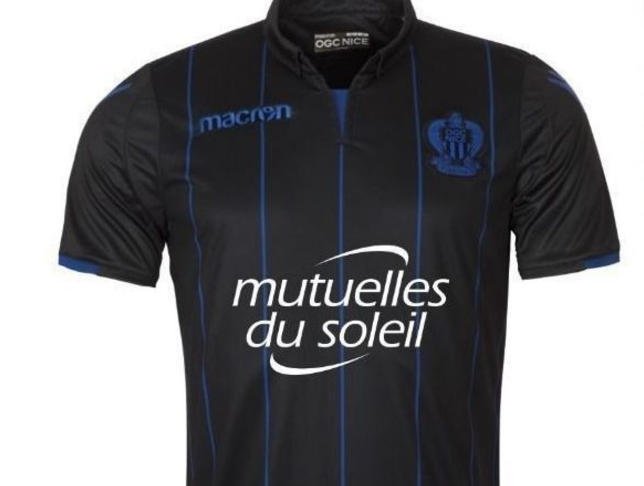 ... Nice s third kit is an uncomplicated yet striking strip that ll look as  sharp on the Cote d Azur beauty s rocky beaches as it will on the Allianz  ... 4ca68454b