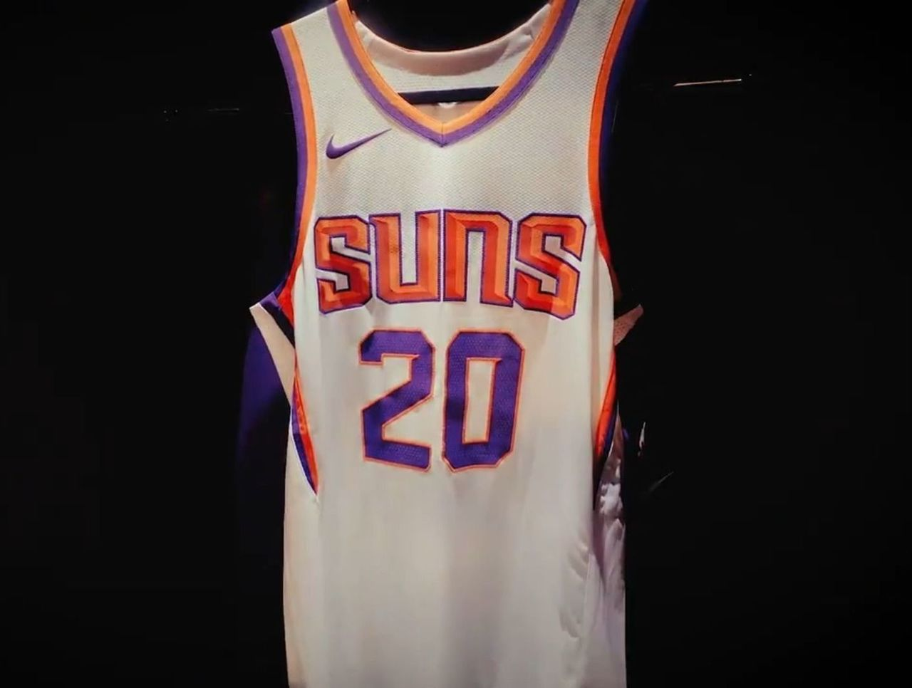 c9e8d10f9 Look  Suns show off new Nike uniforms