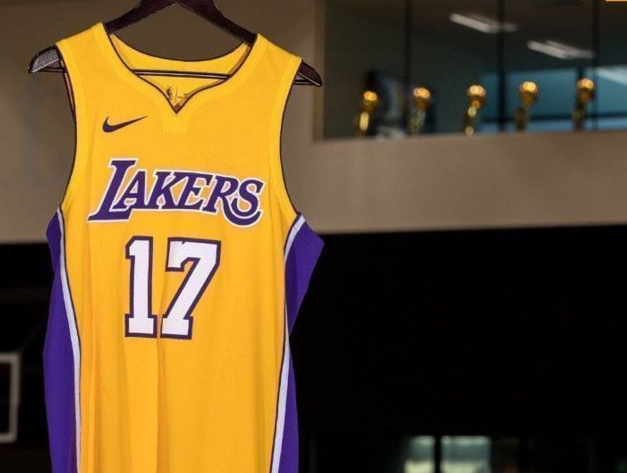 e50ea68c715 Look  Lakers unveil 3 new Nike jerseys