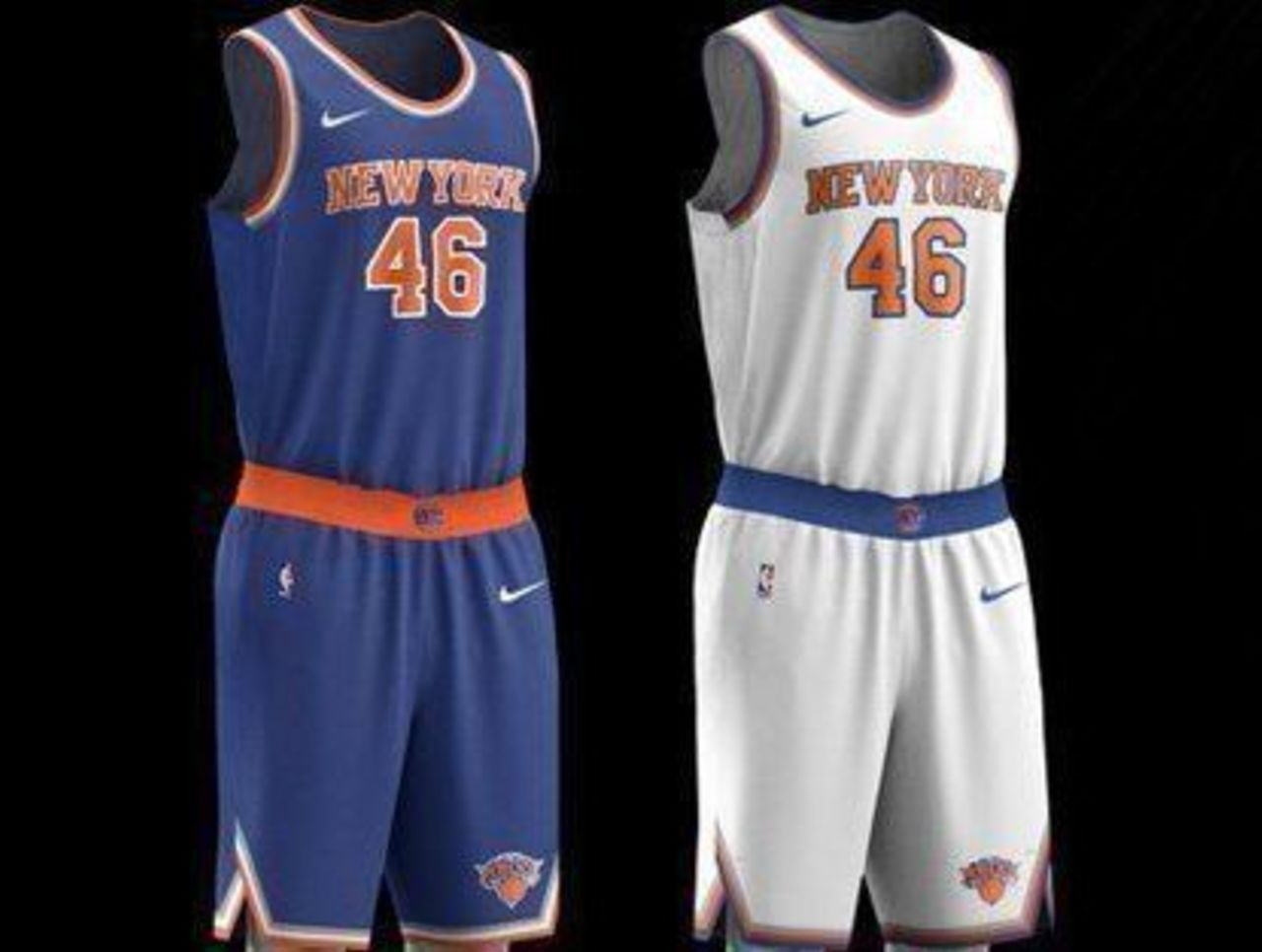76d7e0e7f83 Look  Knicks present new Nike jerseys