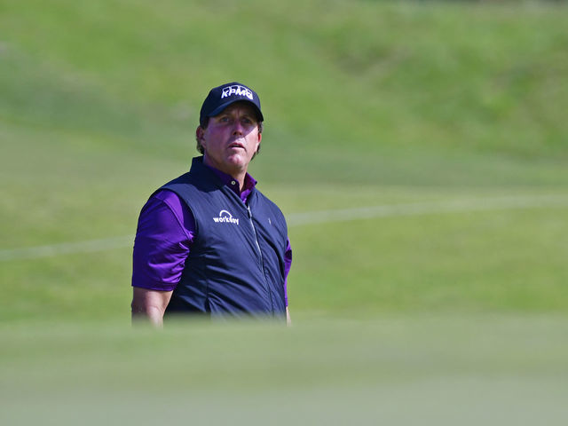 Mickelson, Garcia among notables to miss PGA Championship cut