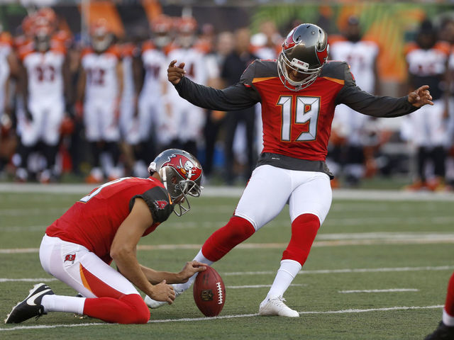 Buccaneers release former 2nd-round pick Aguayo