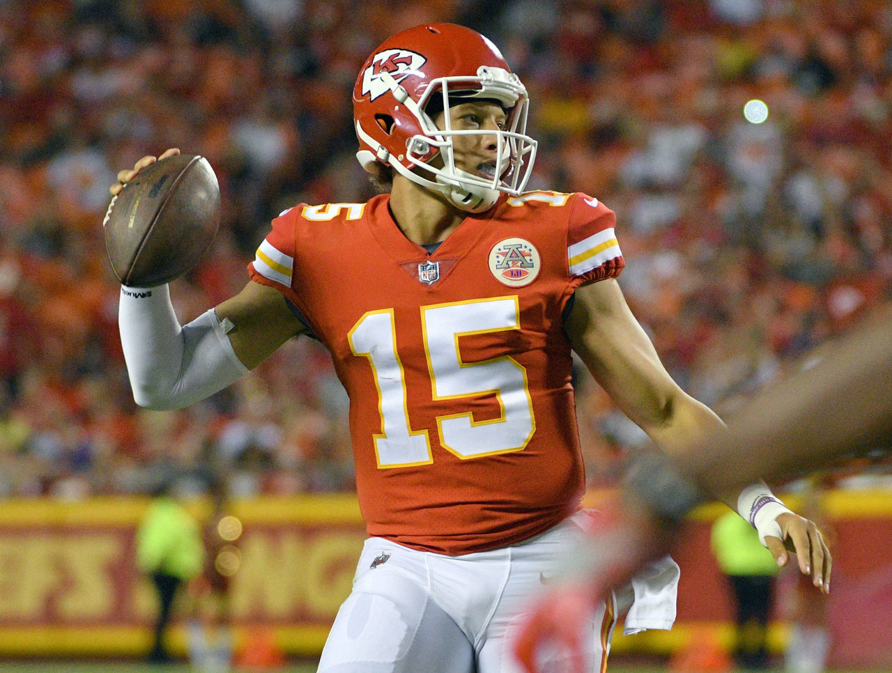 Vick believes Chiefs' Mahomes on the path to greatness